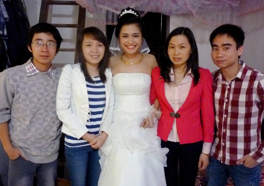 Lễ cưới Thùy Cao