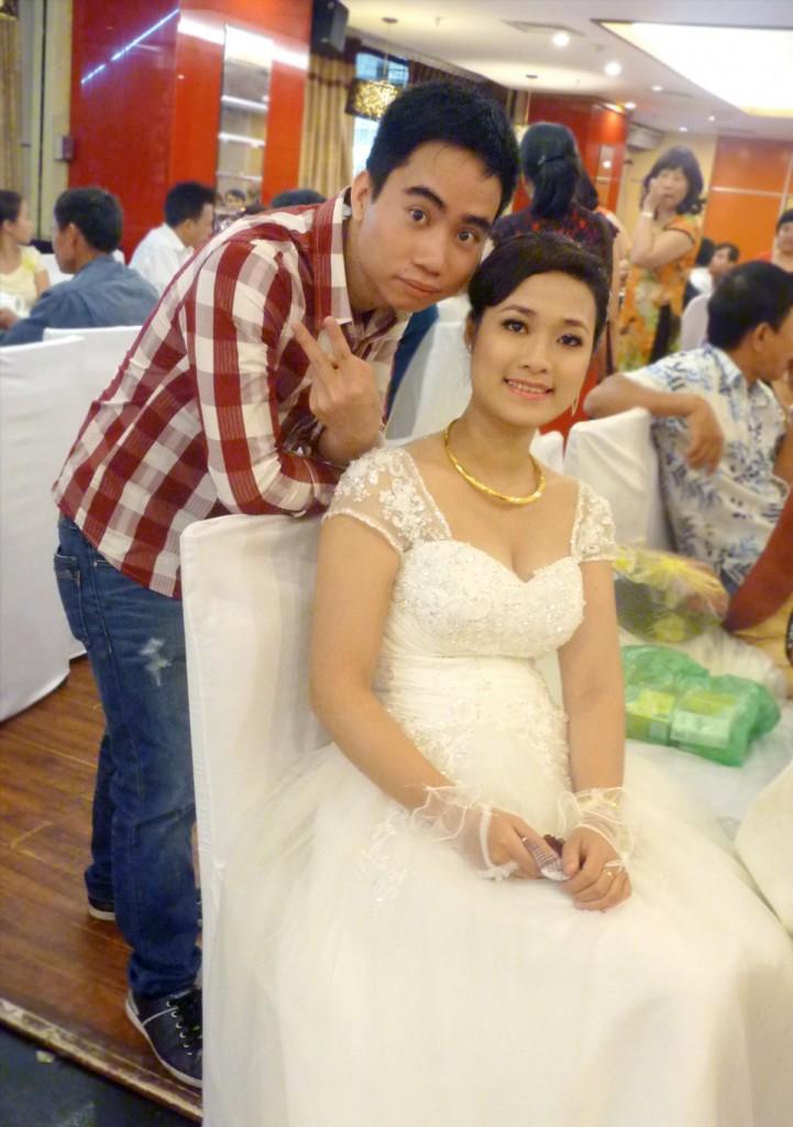 HoangGH cùng cô dâu Hạnh Lê