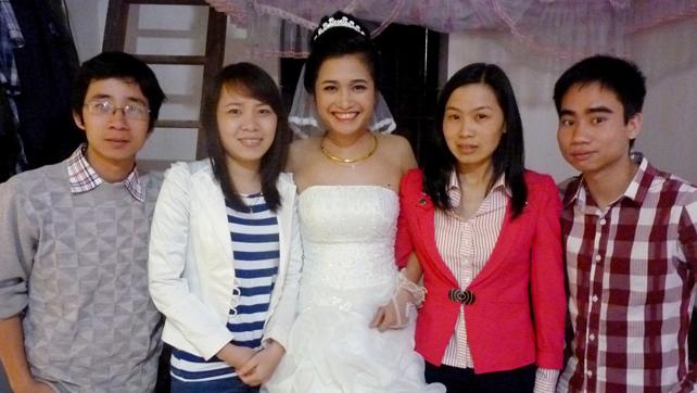 Lễ cưới bạn Thùy Cao