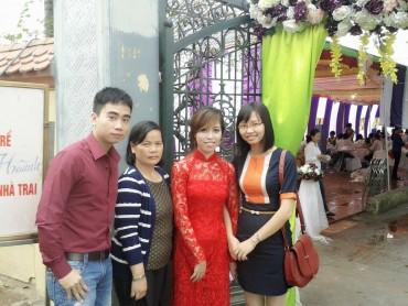 Le ve chụp ảnh tại lễ cưới Ms. Yến EVT