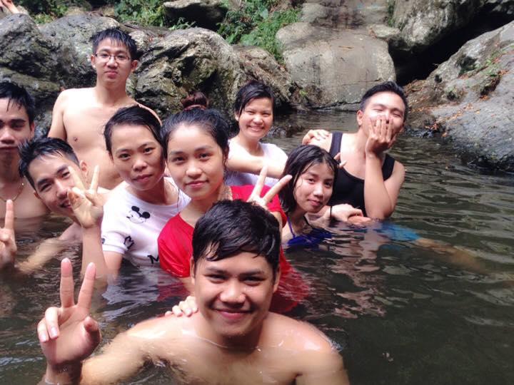 HoangGH -  tắm suối