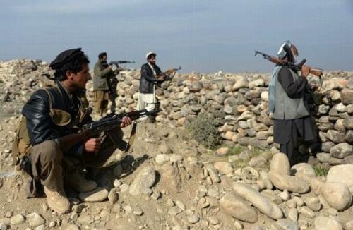 Lực lượng dân quân Afghanistan. Ảnh: AFP