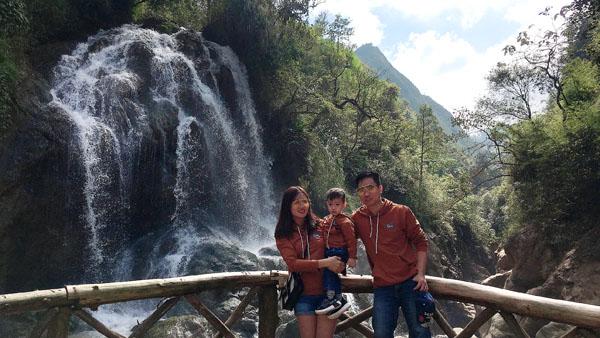 Hoang GH du lịch Sapa cùng gia đình 2019