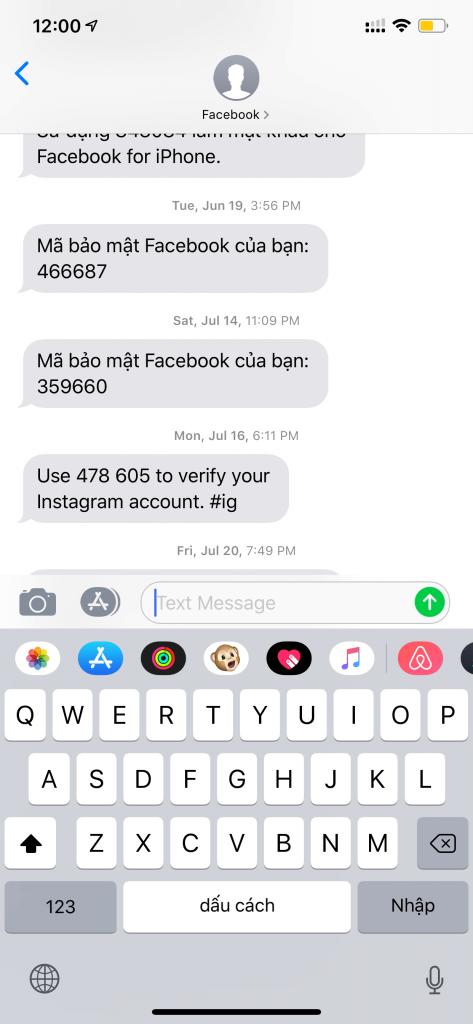Kết nối instagram với pancake