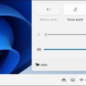 cách điều chỉnh âm lượng hệ thống trên Windows 11