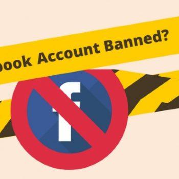 lý do tài khoản Facebook bị khóa